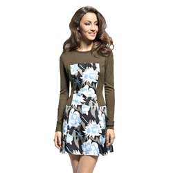 Comfortable Pattern Dress