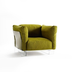 Green Plush Chair
