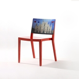 French Art Print Chair -