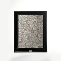Framed Map
