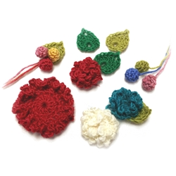 Crochet Flower Pack