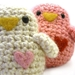 Crochet White Bird -