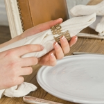 Type Napkin Ring -