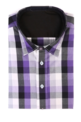 Plaid - Purple & Black