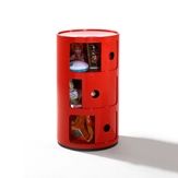 Red Storage Bin -