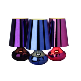 Colorful Metallic Lamps