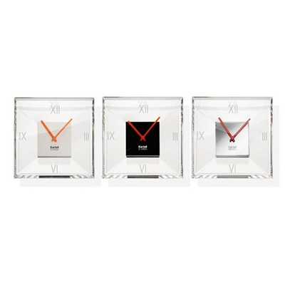 Clear Glass Clocks